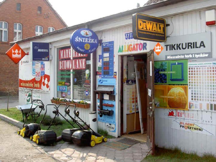 Builderss mechant and diy store skwierzyna poland